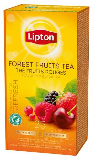 Lipton metsämarjatee Forest Fruits 25 pss (6 ras/ltk)