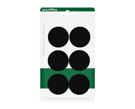 Magneetti 30 mm Musta 6 kpl/pkt