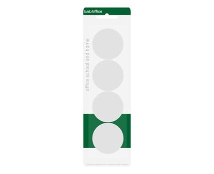 Magneetti 40mm Valkoinen / 4 kpl/pkt