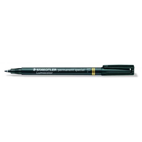 Merkkaustussi 319F-9 Musta / 0,6mm, 10 kpl/pkt