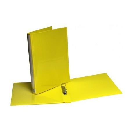 Minimappi A4 20mm keltainen Etu-Ja Kulmatasku 35297