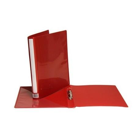 Minimappi A4 20mm, punainen, etu- ja kulmatasku 35291