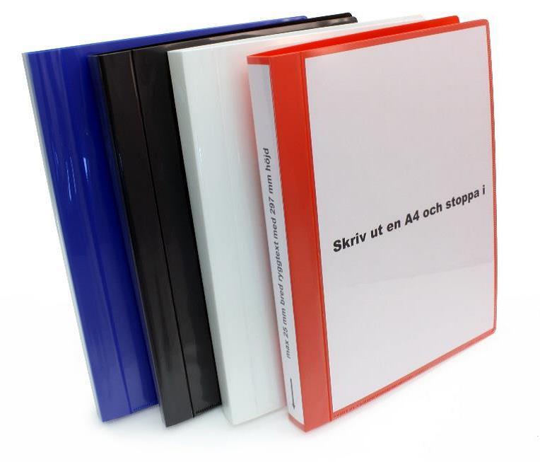 Minimappi A4 20mm Sininen Etu-Ja Kulmatasku 35292