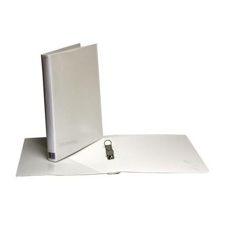 Minimappi A4 20mm Valkoinen Etu-Ja Kulmatasku 35290