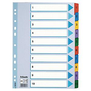 Kartonkirekisteri Mylar 1-10, 10srj/ltk 100161