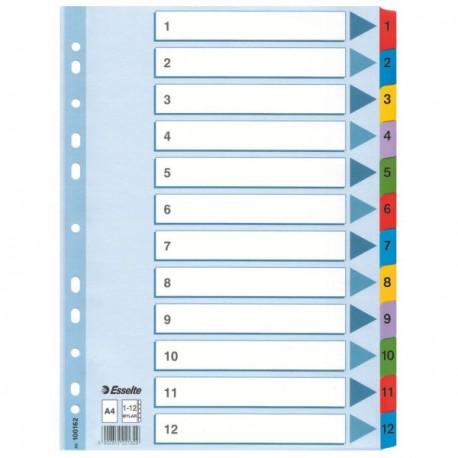 Muovikielirekisteri 1-12 Mylar 10 srj/ltk 100162