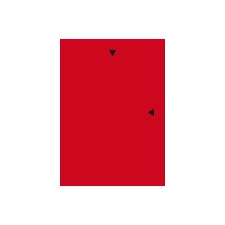 Muovitasku-A4 120/12 Väri Punainen 54834 pl