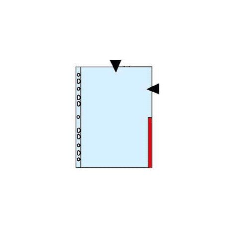 Muovitasku-Signal 0,12 Punainen 55363