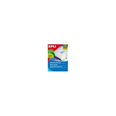 Apli 1289 105x48/1200 Kopio/laser Etiketti