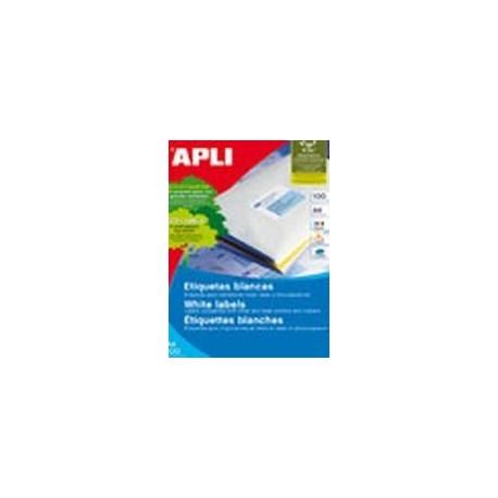 Apli 1290 70x67,7/12jak Kop/laser Etiketti