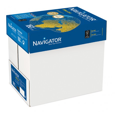 Navigator 160g A4, 127580 NAVOFF160A4, 250 ark/pkt, 5 pkt/ltk