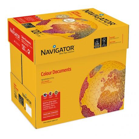 Navigator Colourdoc A4 120 g väritulostuspaperi 250 ark/pkt, 8 pkt/ltk