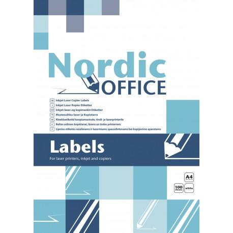 NO etiketti 105x37, 16-os A4, 100 kpl/ltk / 103502 Multi 4708