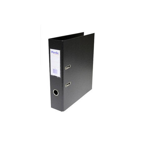 NO Kansio- Plastimap A4/70mm Musta / 1294675