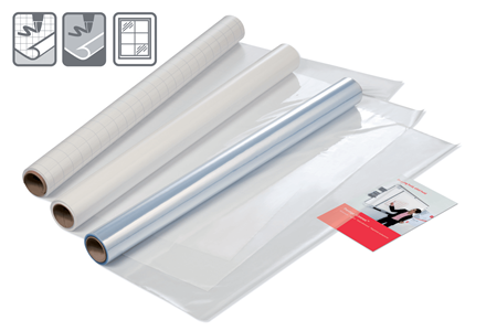 Nobo Instant Whiteboard kalvo, 60x80cm, 25 arkkia/rulla
