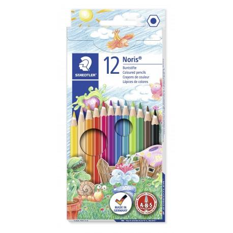 Noris Club 12 värin sarja 144NC12, 10 sarjaa/ltk