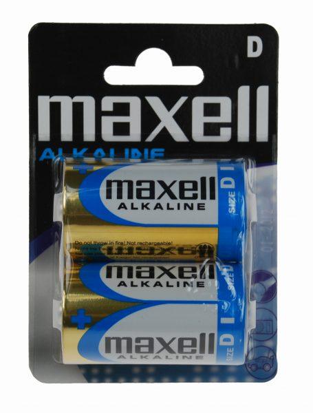 Paristo Maxell LR20 D 2 kpl/pakk / 774410