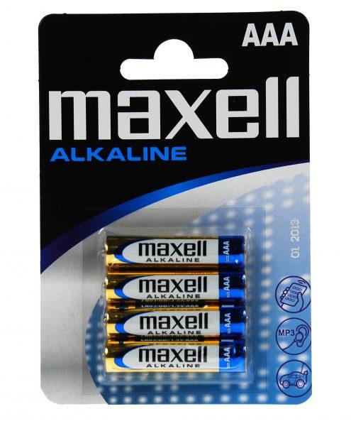 Paristo Duracell / Maxell LR03 AAA 4 kpl/pkt / 723671