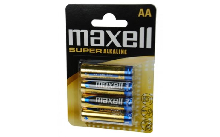 Paristo Super alkaline Maxell LR06 AA 4-pack, 774409