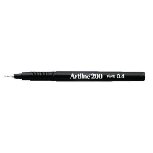 Artline 200, 0,4 Musta 165203