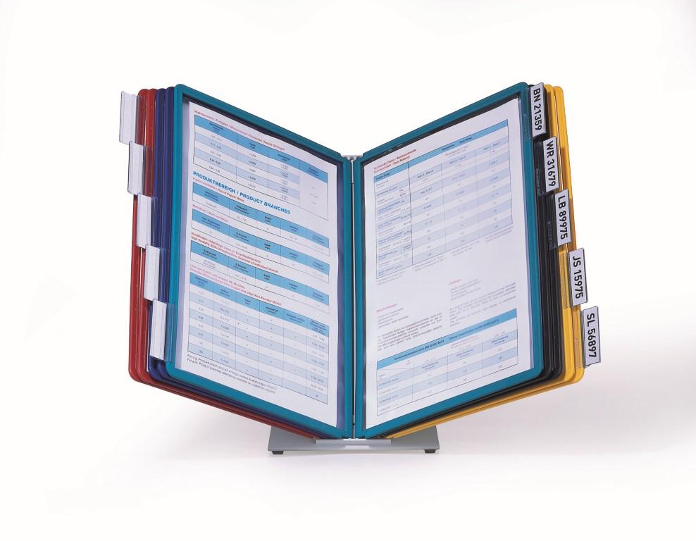 Vario Pro selailuteline A4 10-taskua, värilajitelma