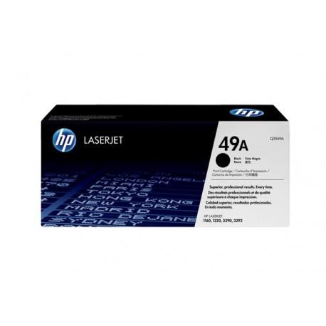 Q5949A Black, HP LaserJet 1160, 1160Le, 1320, 1320n, 1320nw, 1320t, 1320tn, 3390, 3392