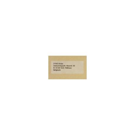 S0722410-Suuri Osoitetarra 89x36 Muovi Kirkas 99013