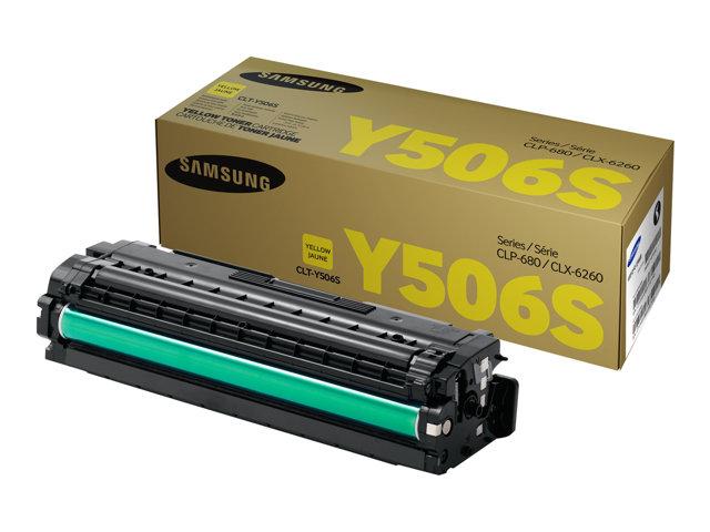 Samsung Yellow CLP-680/CLX-6260 1.500 sivua