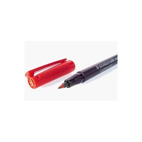 Staedtler Lumocolor 318-2 Punainen Permanent