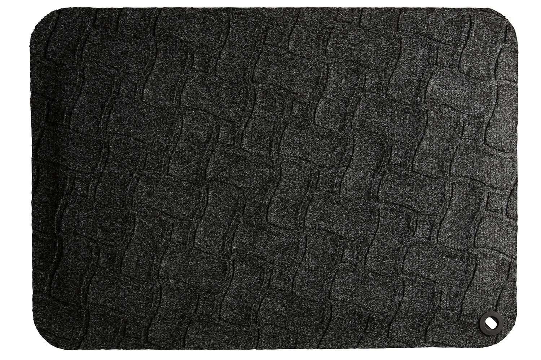 Kangaspäällysteinen seisomatyöpistematto harmaa