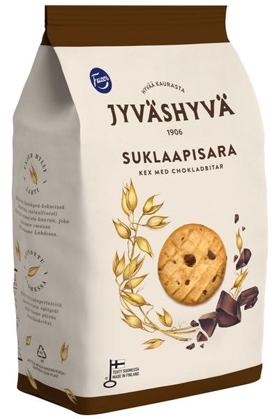 Jyväshyvä Suklaapisara keksi, 350g