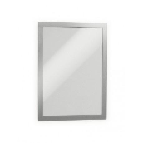 Tarratasku A4 magneetilla Duraframe, hopea, 2 kpl/ps