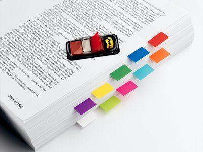 Post-it teippimerkki 680-1, punainen, 50 merkkiä