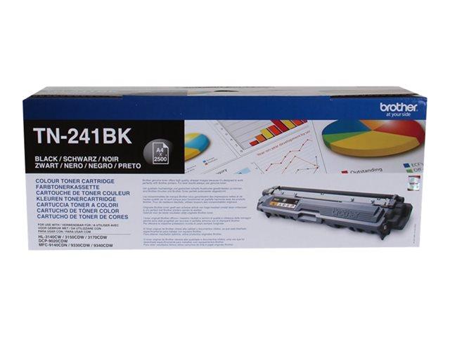 TN241BK Black, Brother DCP-9015, DCP-9020, HL-3140, HL-3150, HL-3170, MFC-9140, MFC-9330, MFC-9340