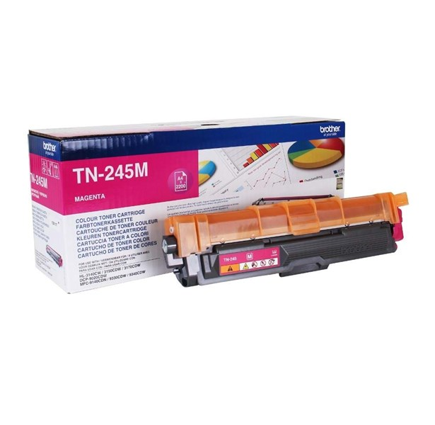 TN245M Magenta, Brother DCP-9015, DCP-9020, HL-3140, HL-3150, HL-3170, MFC-9140, MFC-9330, MFC-9340