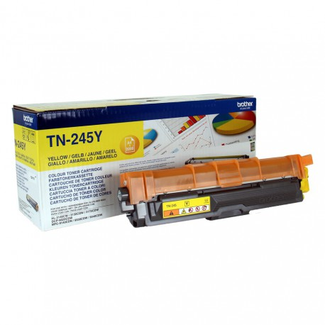 TN245Y Yellow, Brother DCP-9015, DCP-9020, HL-3140, HL-3150, HL-3170, MFC-9140, MFC-9330, MFC-9340