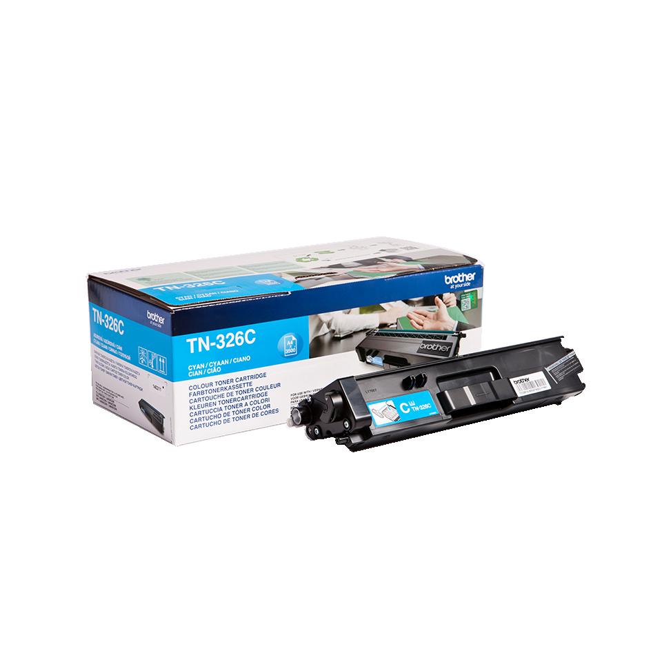 TN326C Cyan, Brother DCP-L8400, DCP-L8450, HL-L8250, HL-L8350, MFC-L8650, MFC-L8850