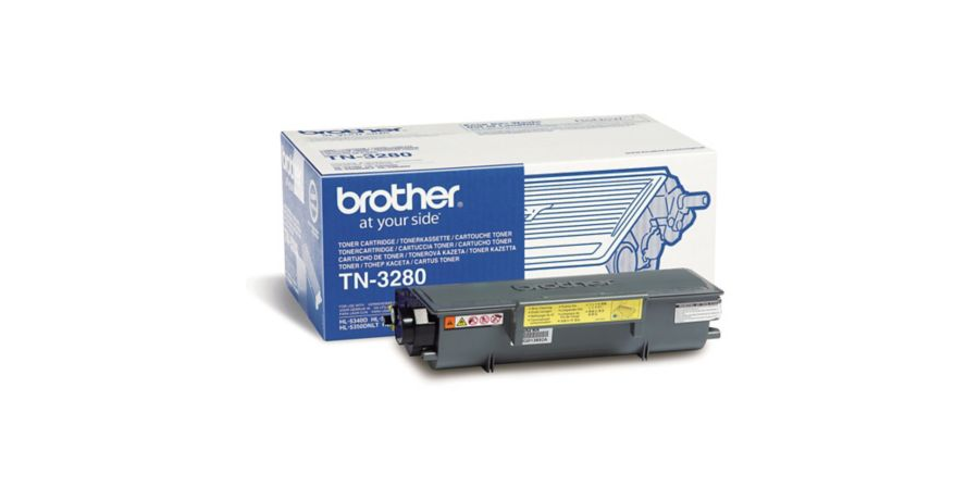 TN3280 Black, Brother DCP-8070, 8085, HL-5340, 5350, 5370, 5380, MFC-8370, 8380, 8880, 8890