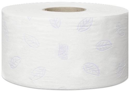 Tork 110255 T2 Premium WC-paperi mini-jumborulla, 3-krs, 12 rll/ltk