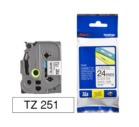 TZe-251 24mm Musta/valkoinen