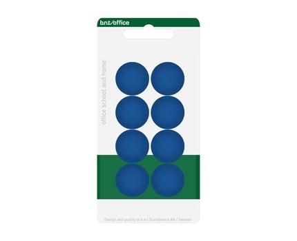 Magneetti 20 mm sininen 8 kpl/pkt
