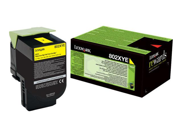 LEXMARK Projekt Toner yellow CX510de/CX510dhe/CX510dthe