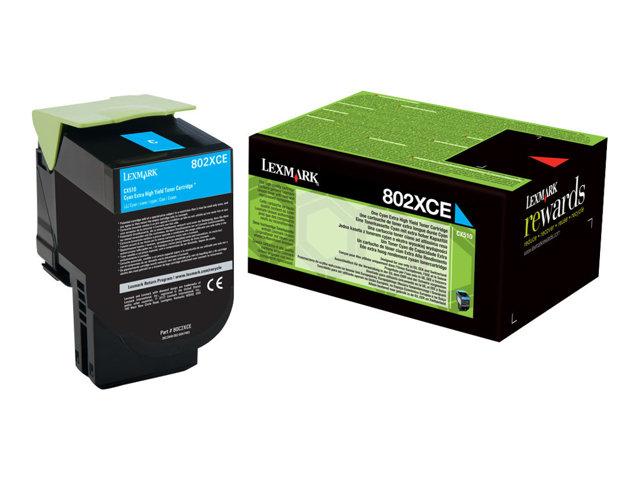 LEXMARK Projekt Toner cyan CX510de/CX510dhe/CX510dthe