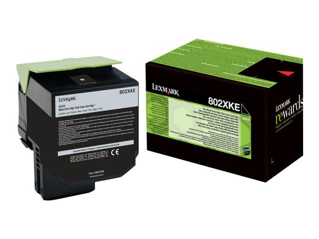 LEXMARK Projekt Toner black CX510de/CX510dhe/CX510dthe