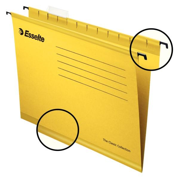 Riippukansio Pendaflex keltainen 25/ltk 90314