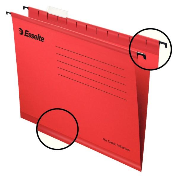 Riippukansio-Pendaflex punainen 25/ltk 90316