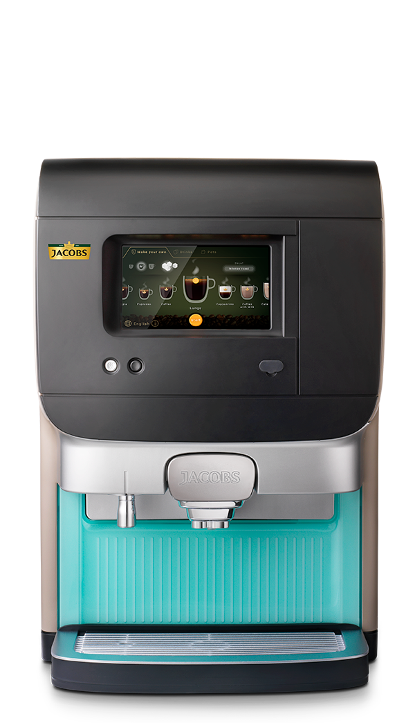 Jacobs Compact IN kahvi, maito, kaakao. Kahviautomaatti