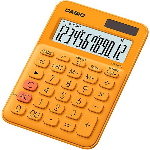 Casio MS-20UC laskin oranssi RG