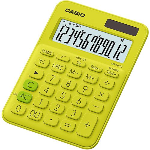 Casio MS-20UC laskin keltainen YG