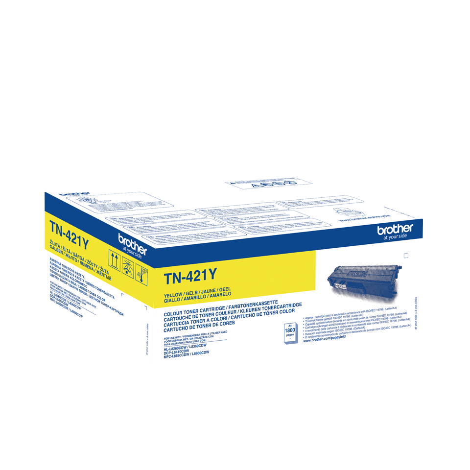Brother TN421Y yellow, Brother DCP-L8410, HL-L8260, HL-L8360, MFC-L8690, MFC-L8900